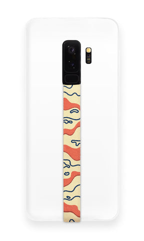 phone strap grip holder liquid water desert yellow orange topography