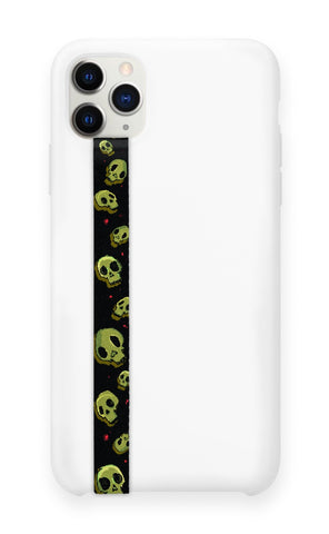 phone strap grip holder skulls