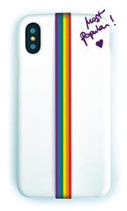 phone strap grip holder rainbow lgbt gay pride lesbian transgender bisexual