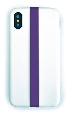 Purple Phone Strap