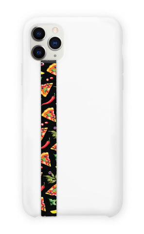 phone strap grip holder pizza