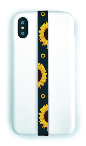 Sunflowers Phone Strap