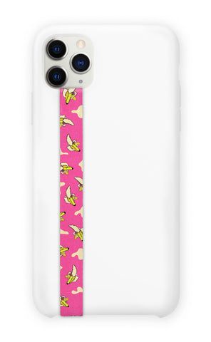 phone strap grip holder banana split