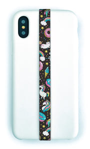 phone strap grip holder unicorn fantasy