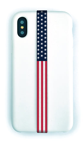 phone strap grip holder star spangled banner stars stripes usa america united states