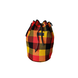 Love You Back Tote - Maasai Collection - Orange