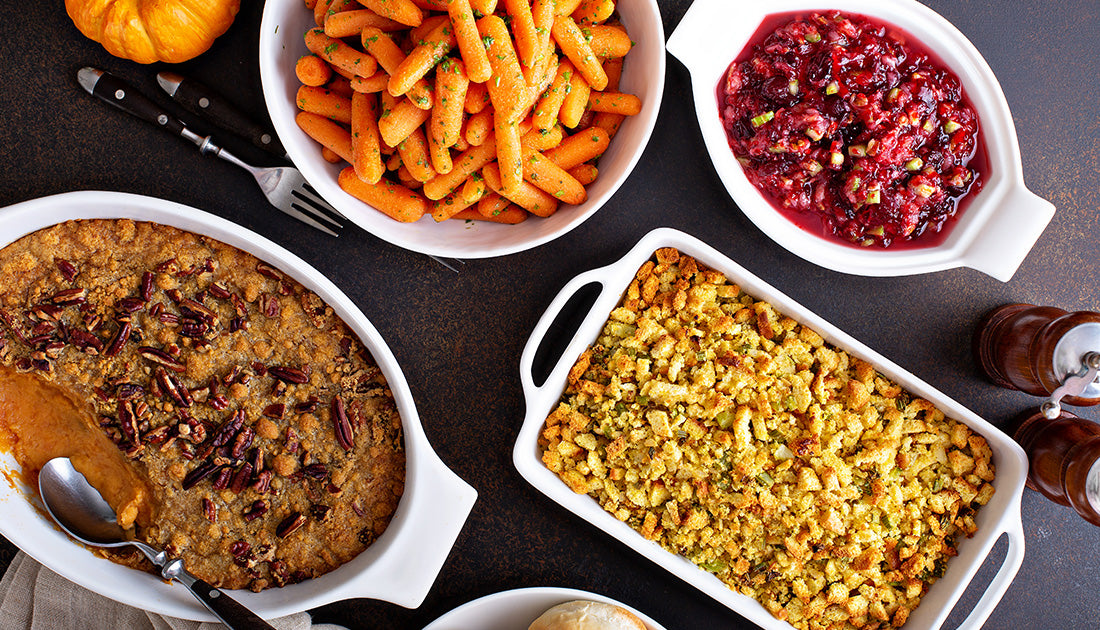 fit and healthy side dishes for the holidays with SteelFit protein for Thanksgiving