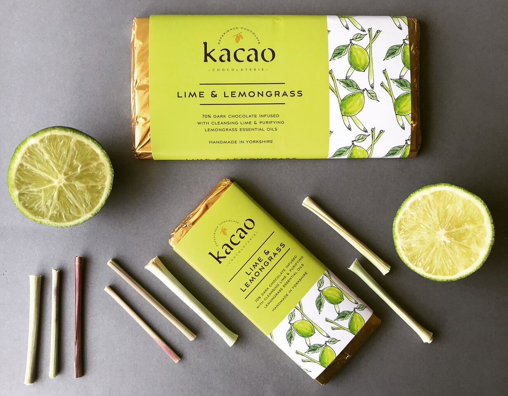 New Botanical Chocolate Bar Range