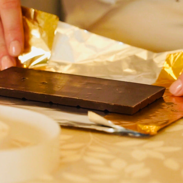 Gold Foil Chocolate Bars