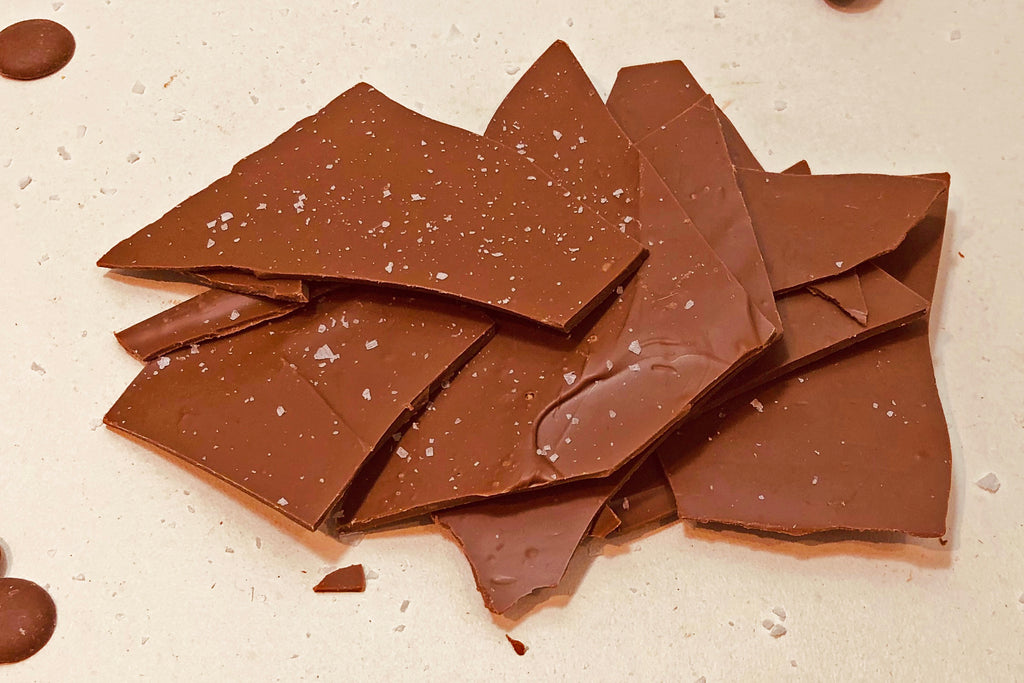 Lightly Salted Milk Chocolate Thins