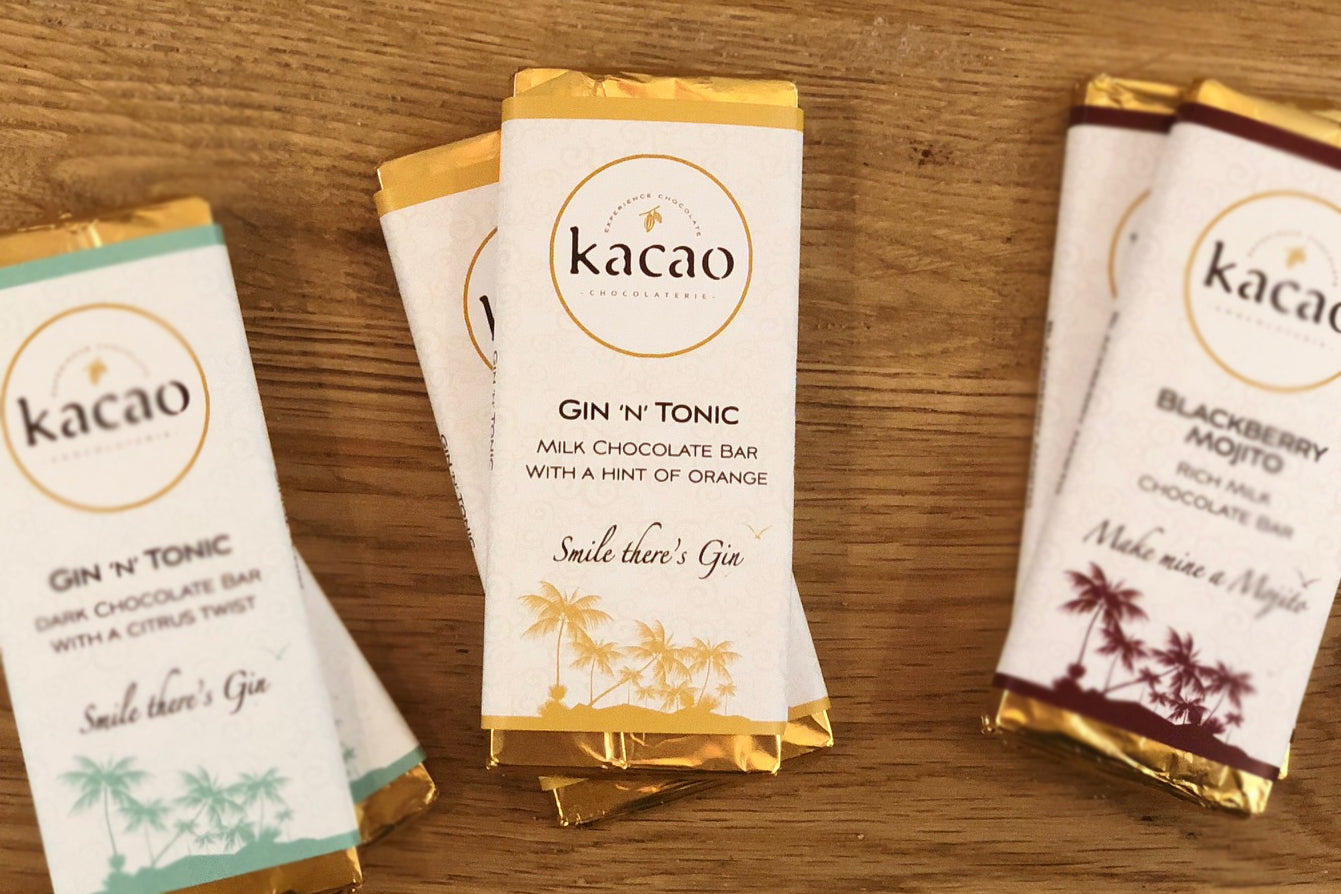 Milk Chocolate Gin 'n' Tonic Mini Bar