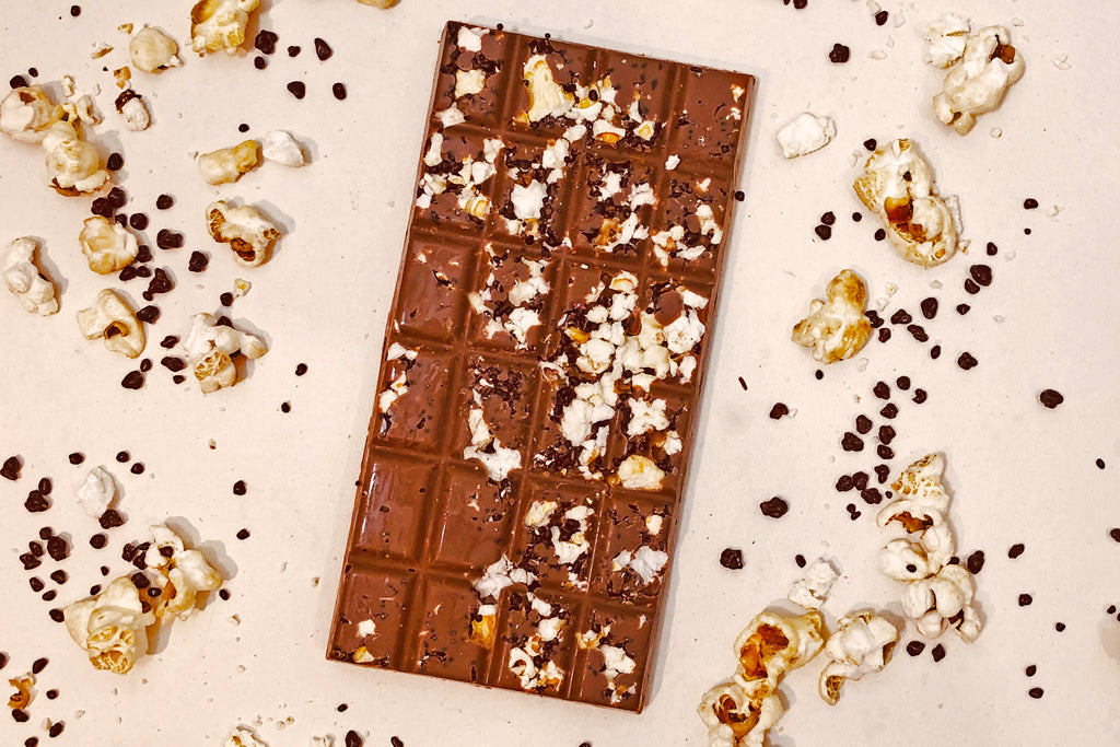 The Double Popped Bar - Popcorn and Popping Candy