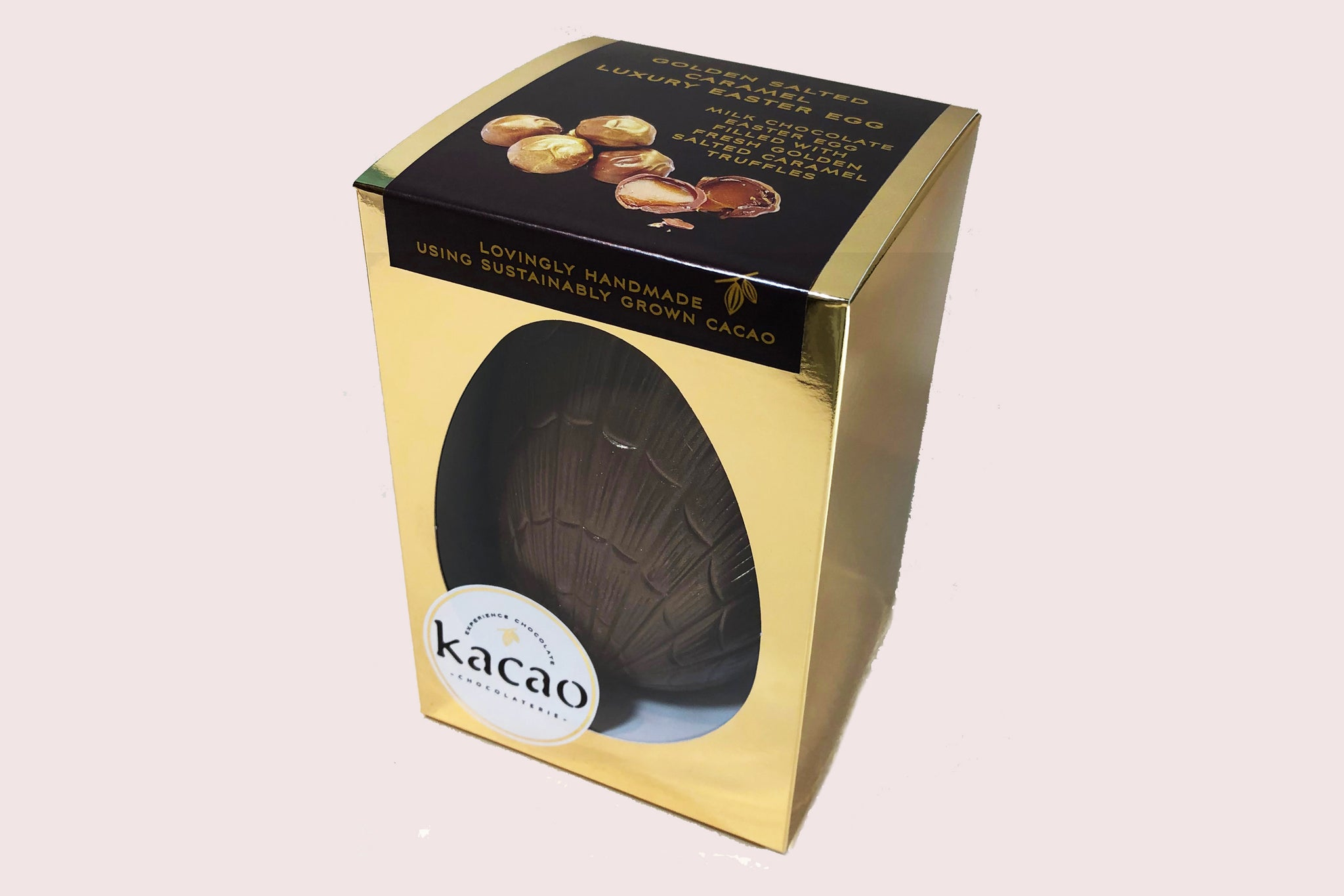 Luxury Golden Salted Caramels Large Easter Egg