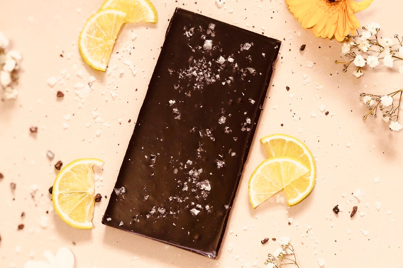 67% Madagascar with Lime and Sea Salt Bar