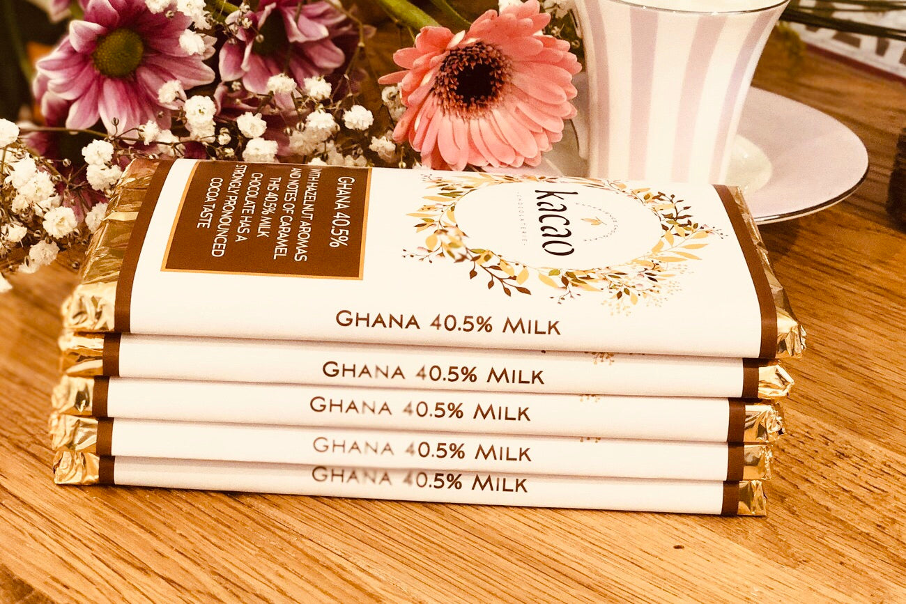 Ghana Milk Chocolate Bar