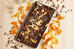 70% Dark Chocolate Orange and Cacao Nib Bar