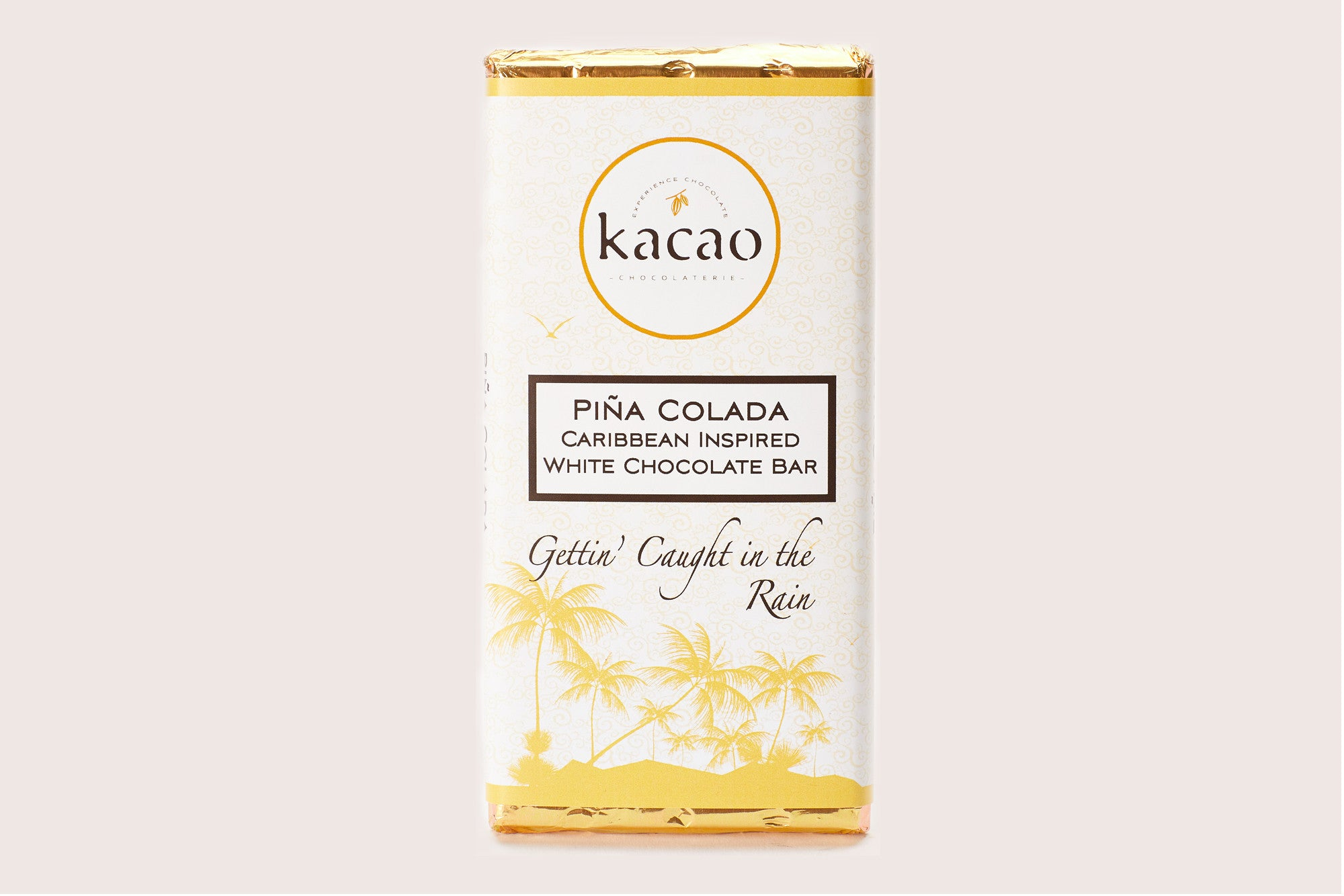 Pina Colada White Chocolate Bar