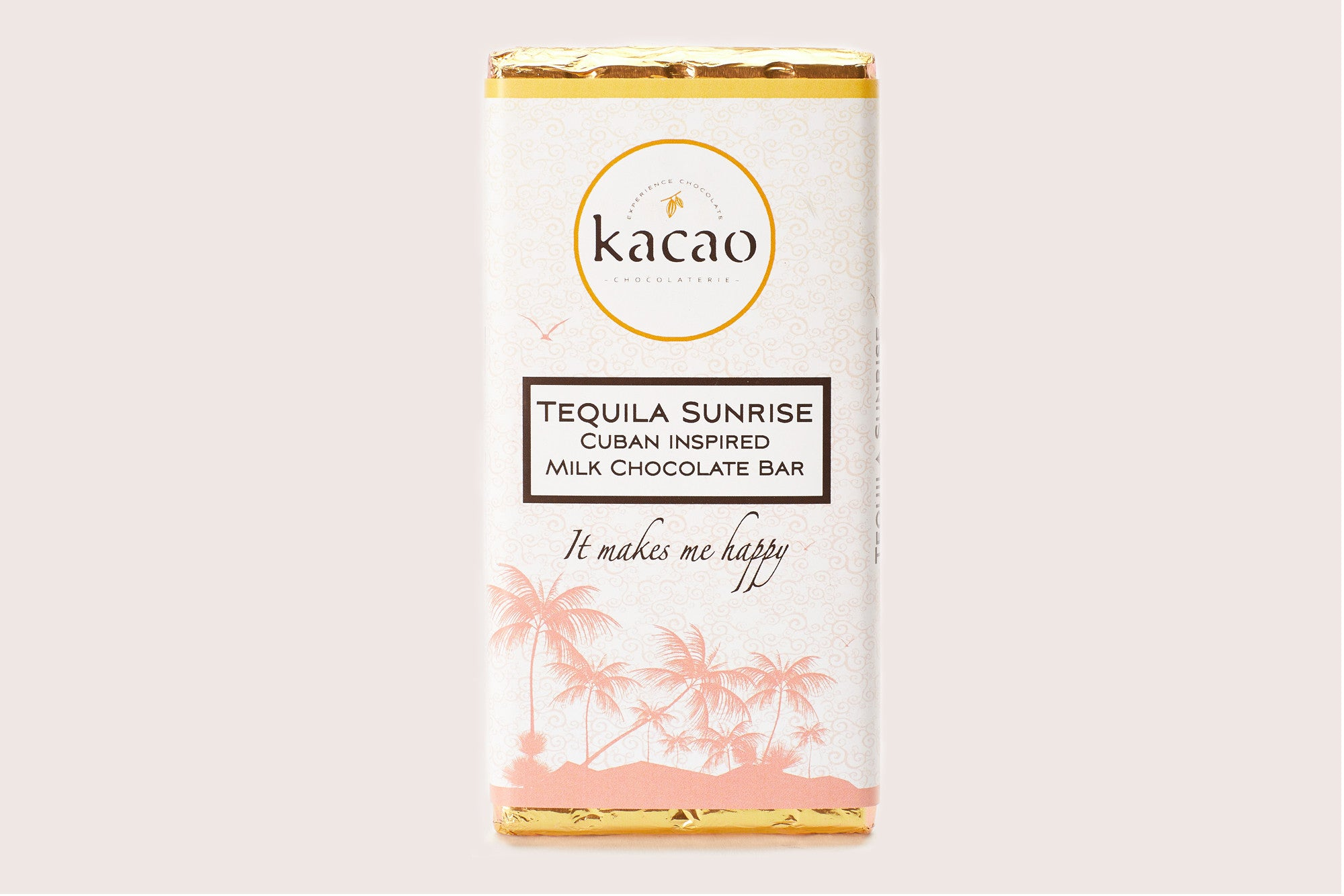 Tequila Sunrise Milk Chocolate Bar