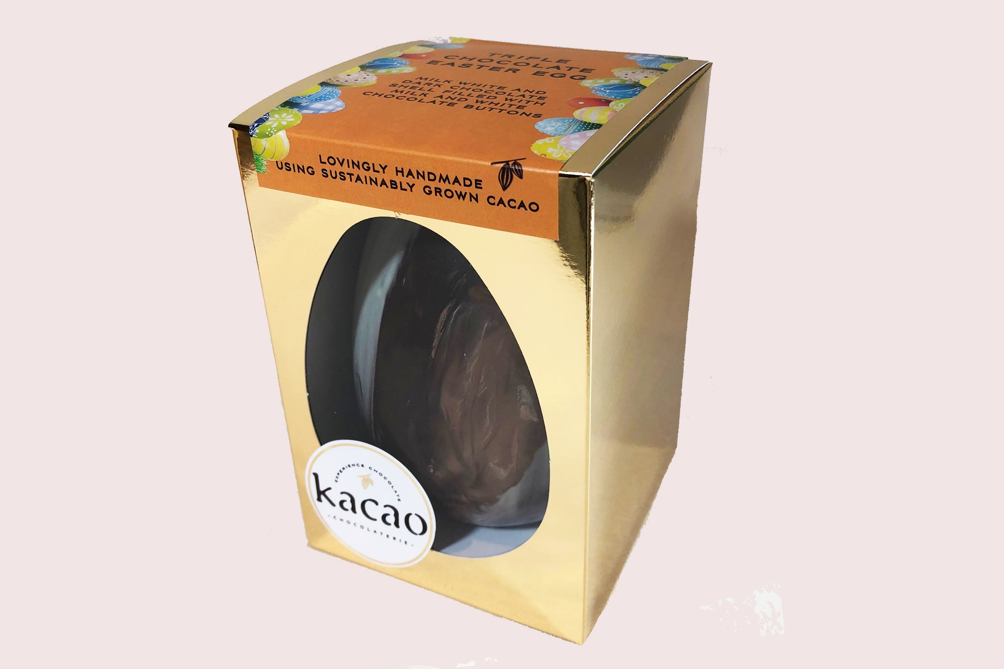 Triple Chocolate Large Easter Egg