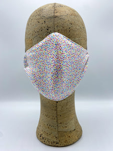 Land of Sweets Collection Confetti Dots cloth face mask