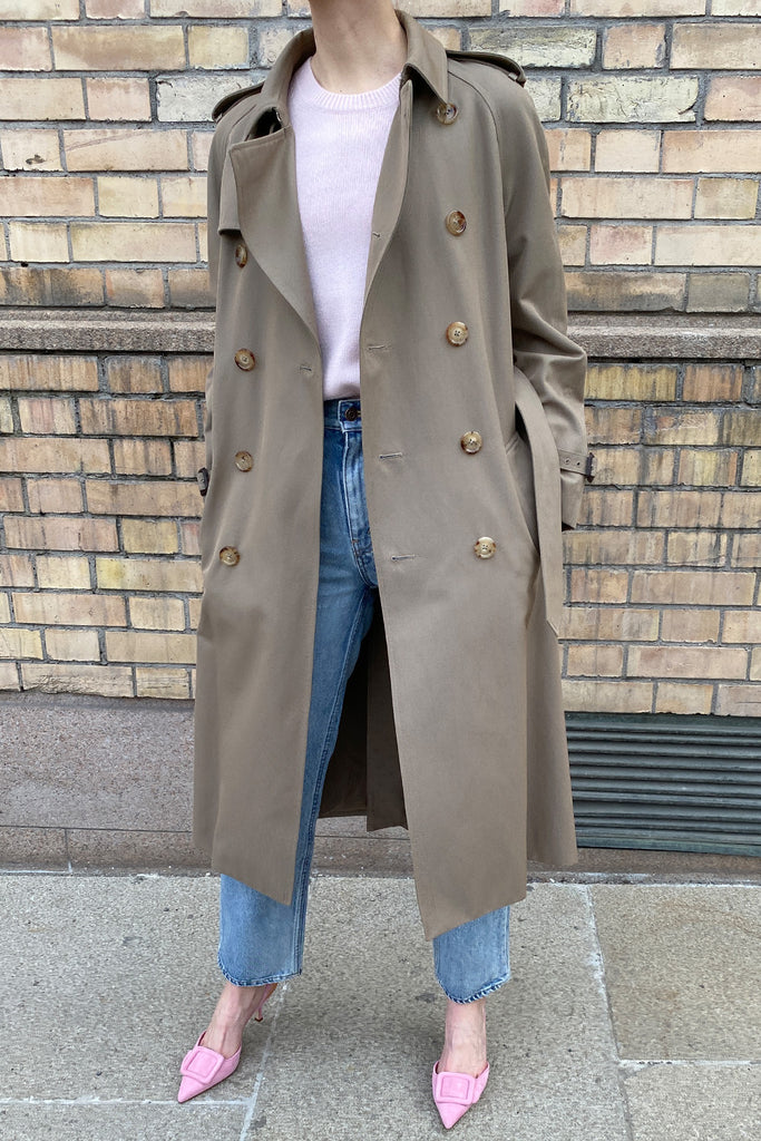 Celine Trenchcoat in Wool and Cotton