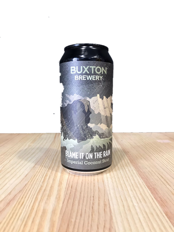 Cerveza artesanal Blame It On The Rain elaborada por Buxton Brewery
