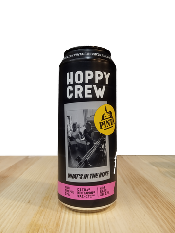 Cerveza artesanal Hoppy Crew: What's In the Box? elaborada por Browar PINTA
