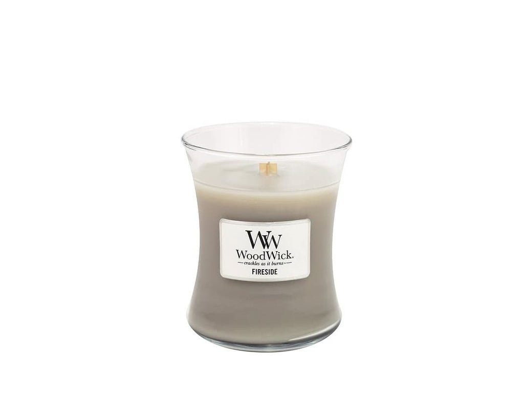 WoodWick® Fireside 10-Ounce Jar Candle - Oneeque