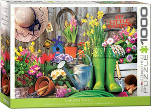 Eurographics 6000-5391 Garden Tools 1000-Piece Puzzle Jigsaw