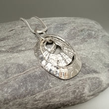 Load image into Gallery viewer, triple silver limpet necklace handmade by Sharon McSwiney St Ives