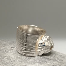 Load image into Gallery viewer, sterling silver barnacle handmade ring by Sharon McSwiney