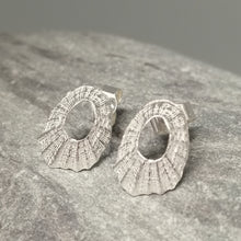 Load image into Gallery viewer, Sterling silver tiny Marazion limpet shell handmade by Sharon McSwiney