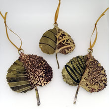 Load image into Gallery viewer, Lime leaf decoration handmade by Sharon McSwiney
