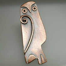 Load image into Gallery viewer, Owl brooch