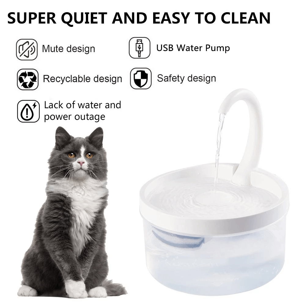 Decorative Pet Drinking Water Fountains