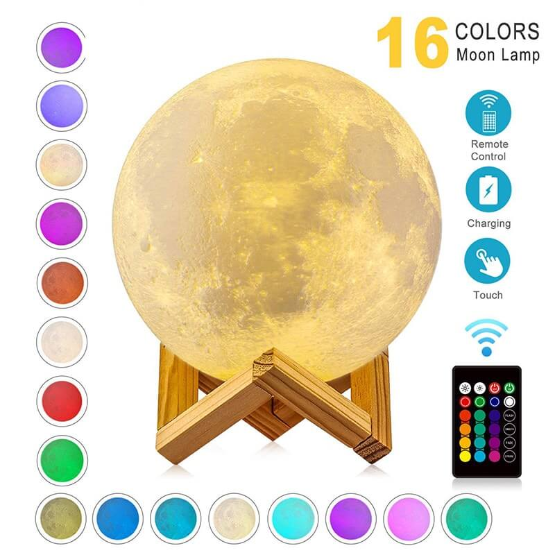 How To Fix Moon Lamp