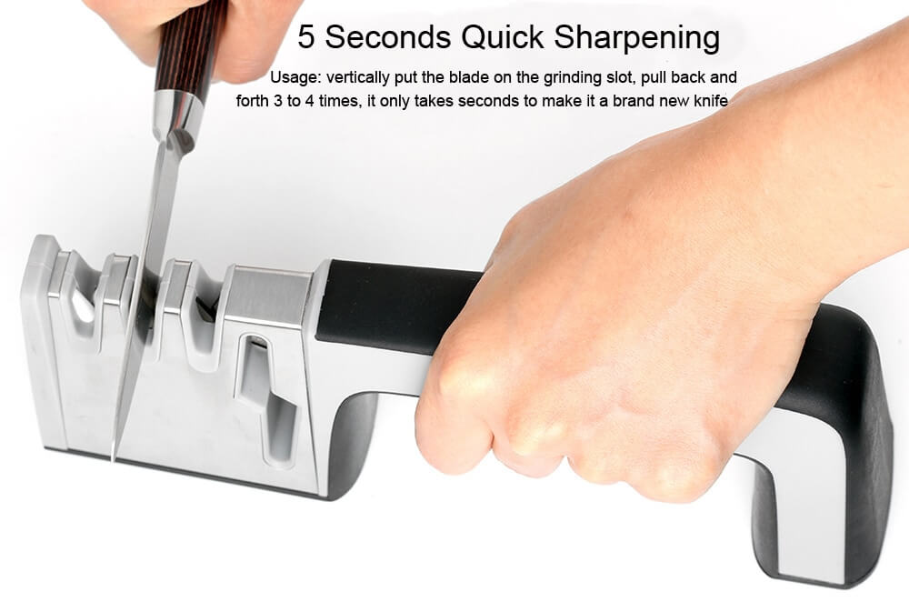 How To Sharpen A Knife With A Sharpener