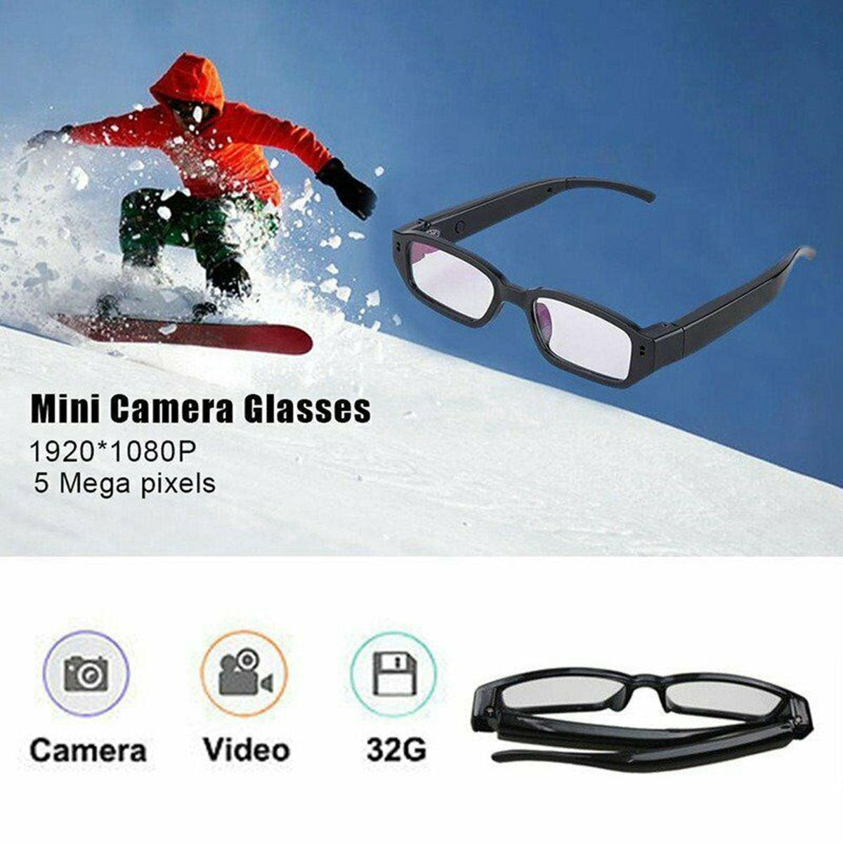 Glasses With Built In Camera