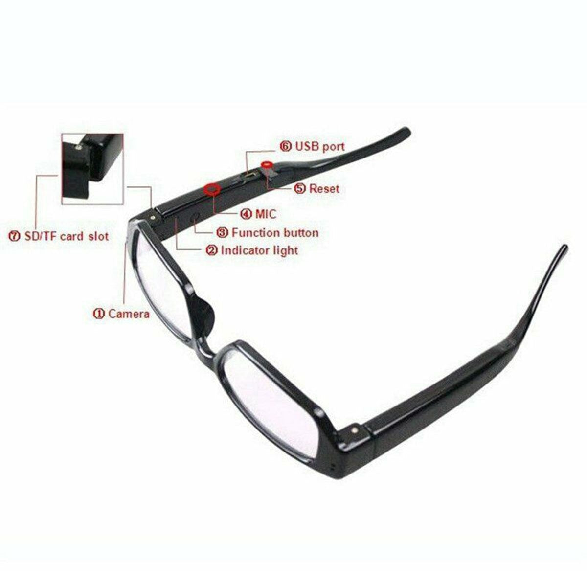 Glasses That Record Video And Audio
