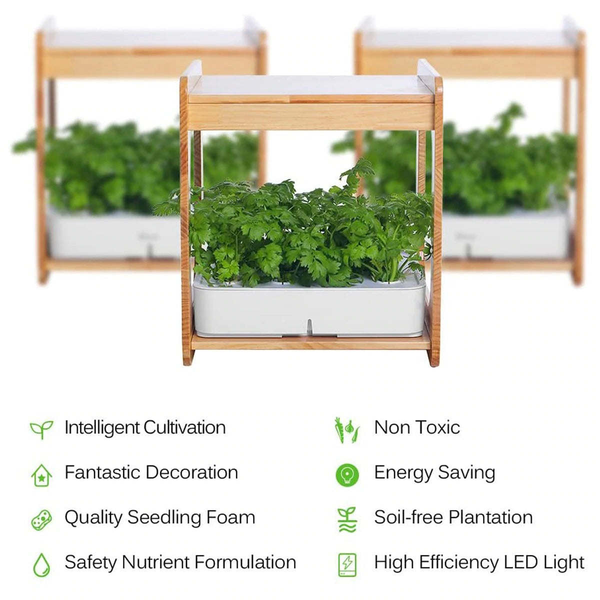 Complete Indoor Hydroponic Grow System