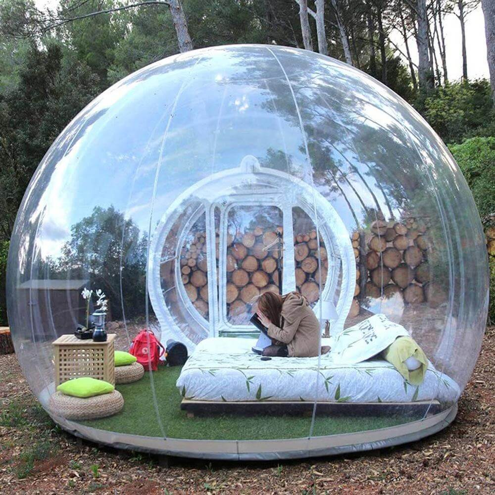 Transparent Bubble Tent