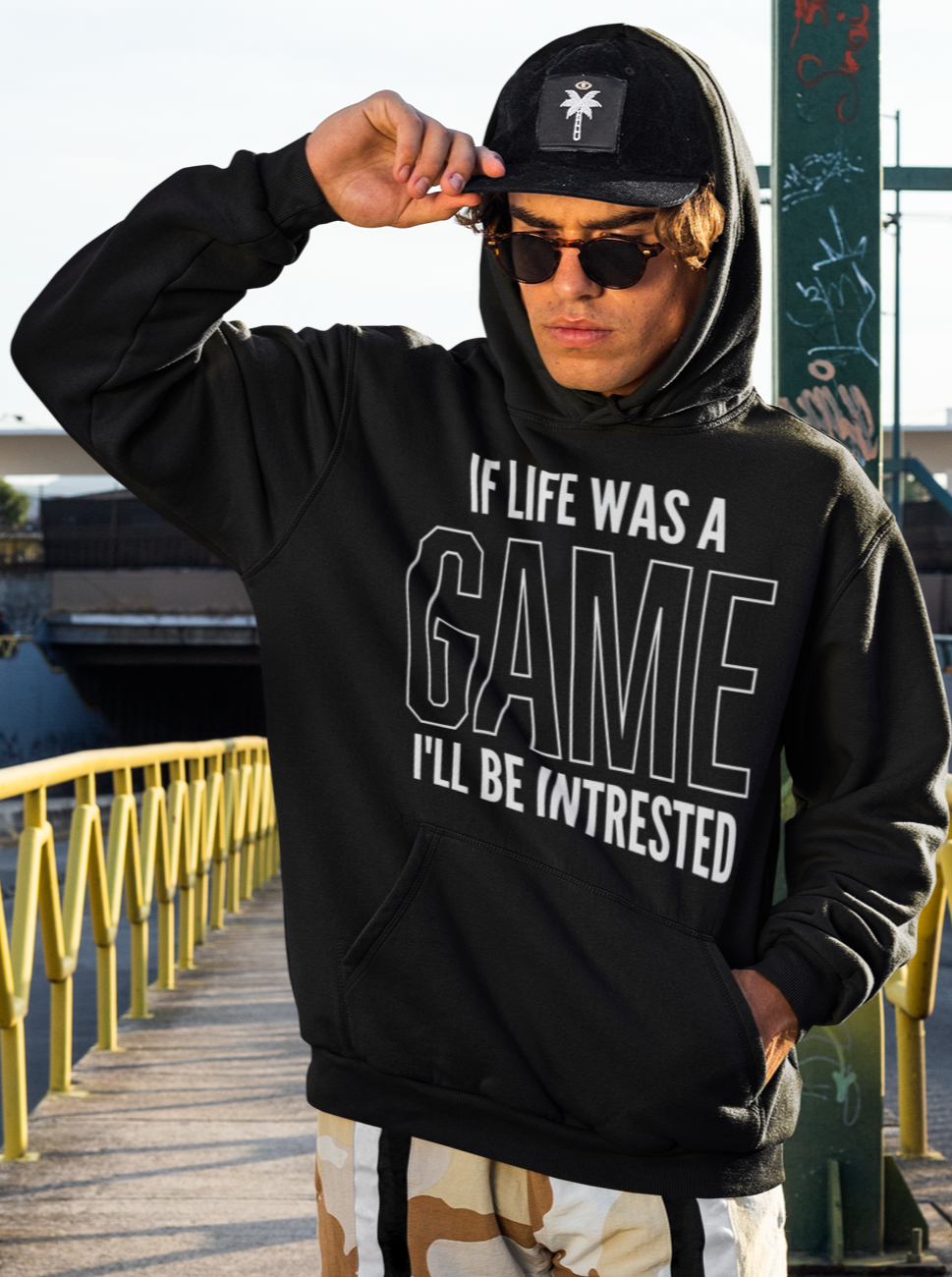 If life was a game Hoodie