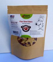 Load image into Gallery viewer, Flax Seed Star Dog Treats - Vegan, Wheat Free NON GMO