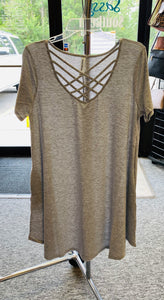 T-Shirt Criss-Cross Dress