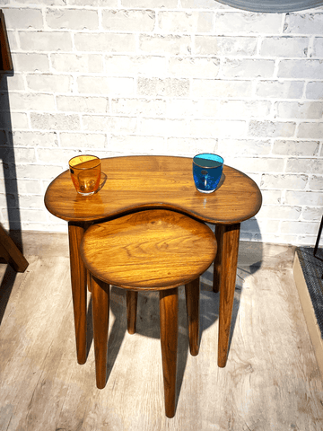 Round Furniture Table by The Walnut Studio - the best furniture store in Delhi