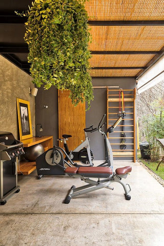 Workout Space design by The Walnut Studio