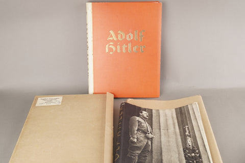 MINT! Adolf Hitler with papercover in cover. Complete.