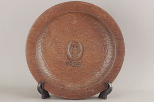 DDAC Wooden carved plate.