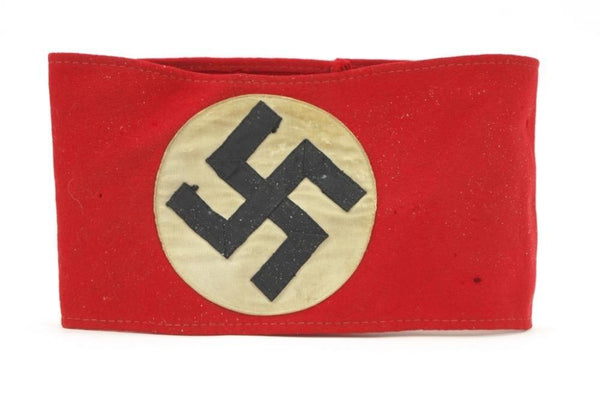 3-piece construction NSDAP Armband. WW2 German