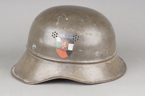 ON HOLD! Rare Bulgarian Luftschutz helmet. WW2 German/Bulgarian